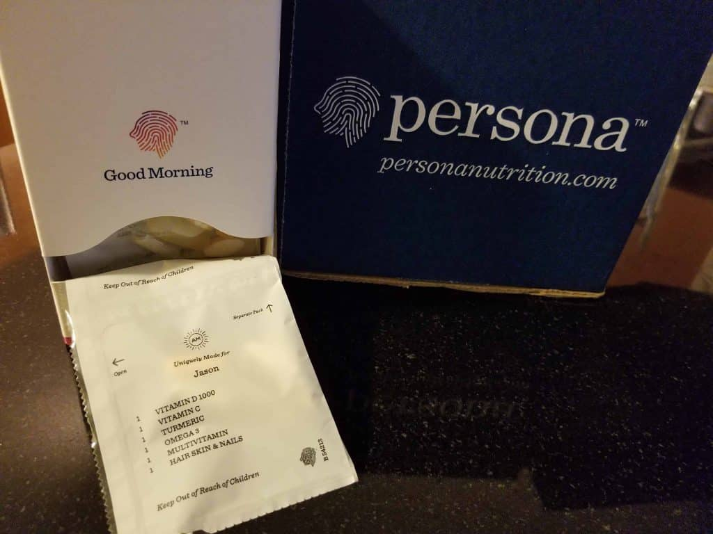 Persona Nutrition Custom Packaging