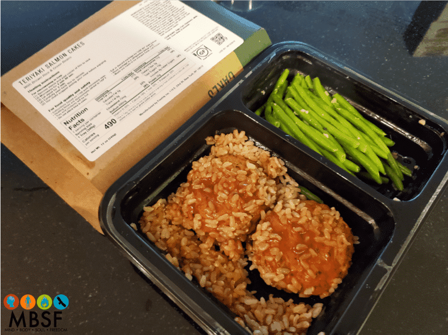 Freshly - Teriyaki Salmon Cakes