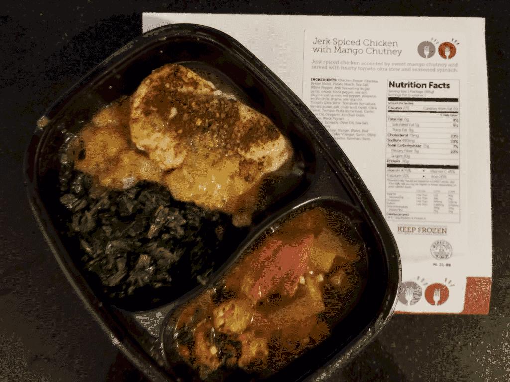Jerked Spice Chicken with Mango Chutney