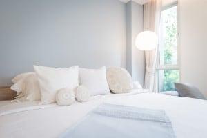 White Pristine Bed