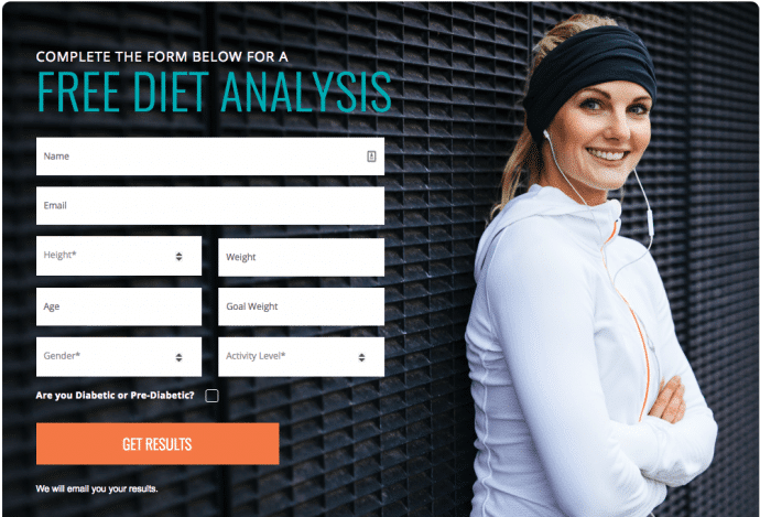Diet to Go - Free Diet Analysis