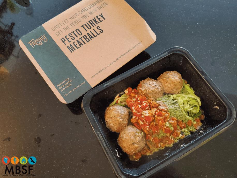Freshly - Pesto Turkey Meatballs