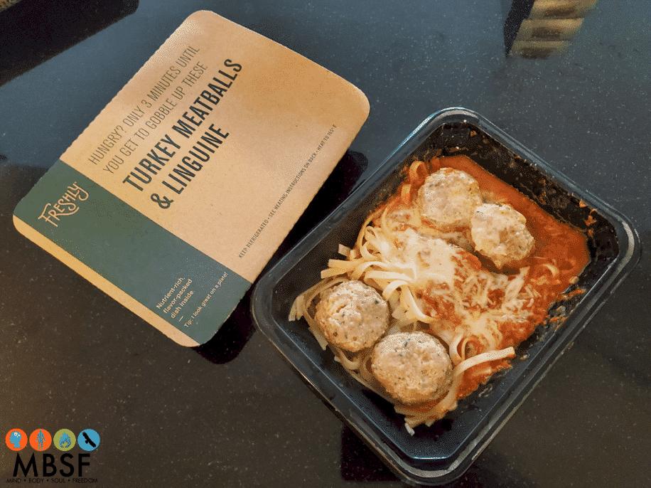Freshly - Turkey Meatball & Linguine