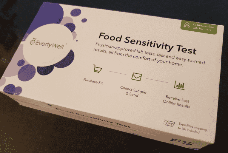 EverlyWell Home Food Sensitivity Test Kit