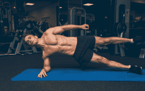 calisthenic one side plank