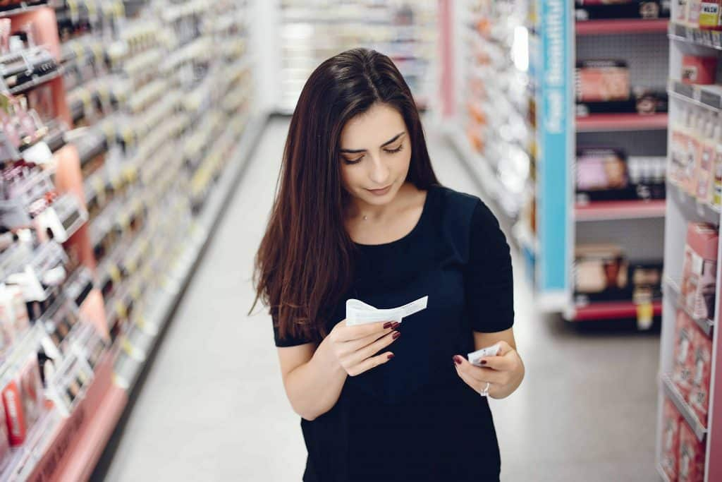 Avoiding harmful ingredients in personal care products