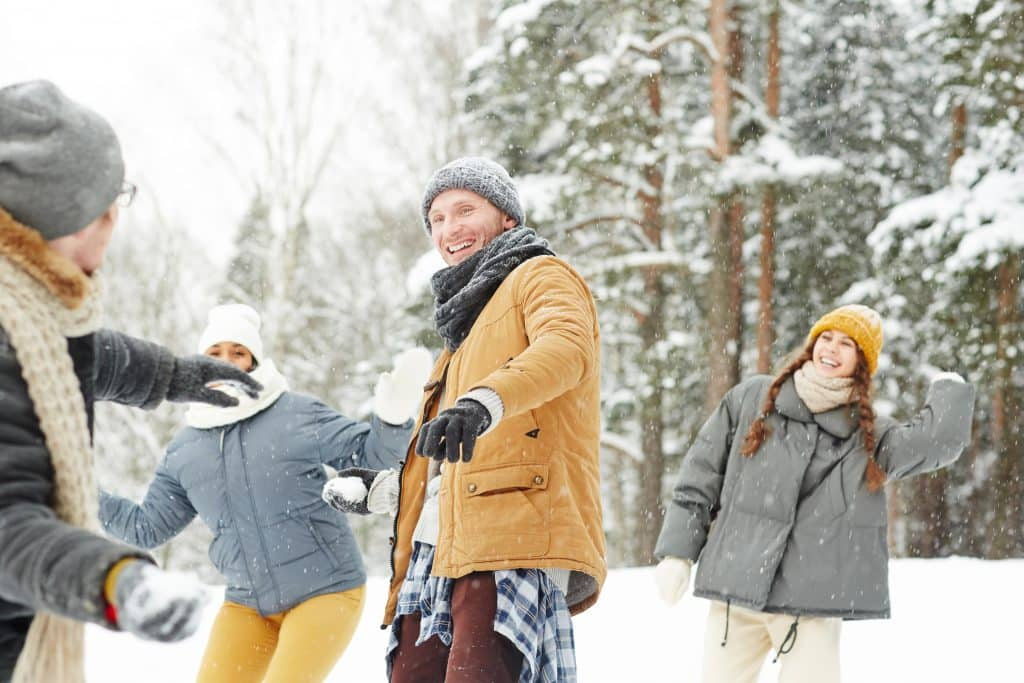 Make physical activity part of the festivities to avoid holiday weight gain.