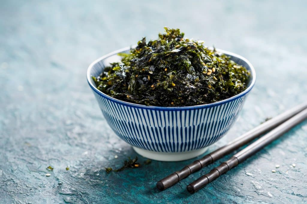 Iodine rich foods for an underactive thyroid