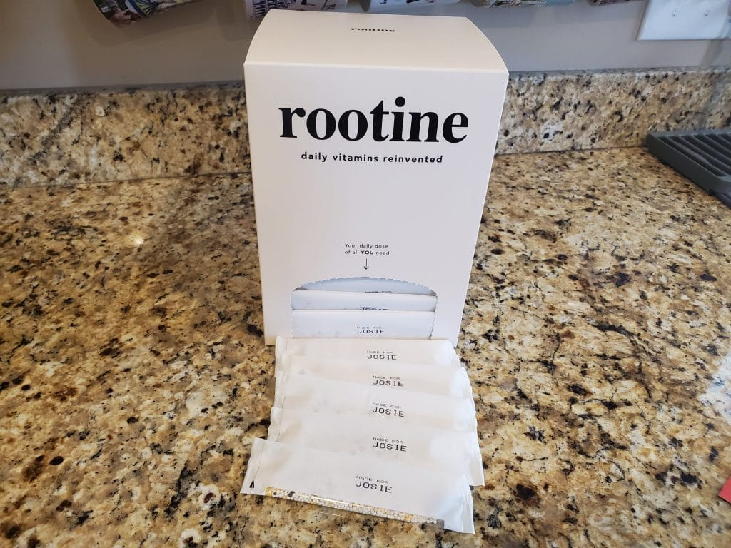 My Custom Vitamin Packs from Rootine